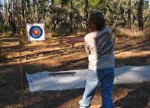 Atlatl Throwing