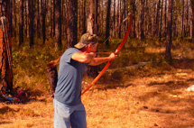 Primitive Bow Competition - Donnie Collins