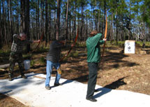 Primitive Bow Competition
